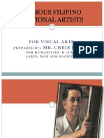 Filipino National Artists for Visual Arts