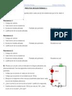 PRÁCTICA DE ELECTRÓNICA 1-4º ESO