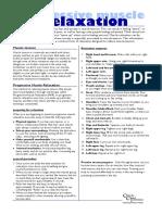 Panic Information Sheet - 05 - Progressive Muscle Relaxation.pdf