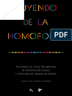 Huyendo de La Homofobia