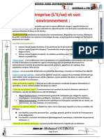 L'Entreprise Et Son Environnement-1