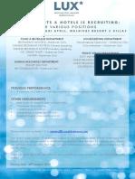 LSAA Job Poster Advert_various Position - 19.10.19