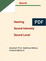 Sound basics