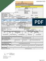 Copy of Agencies Forwarded Copy