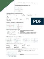Características de Las Funciones. Ejercicios I