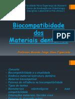 Biocompatibilidade de materiais dentários