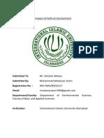 Islamic Jurisprudence of Environment