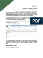 Interfax de Excel