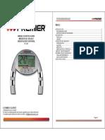 Manual de Instrucciones Adipometro Premier Bp-246o