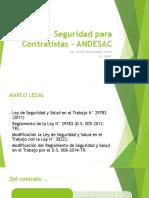 Seguridad Para Contratistas - ANDESAC