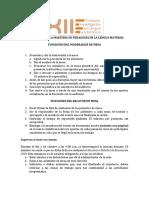Funciones Moderador y Relator de Mesa Coloquio MPLM