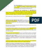 Articulos Del Proceso Oral y Mixto