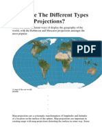 What Are The Different Types Of Map Projections.docx