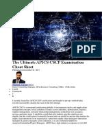 Cscp Study Plan