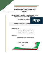 Informe Bar