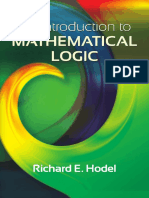 Hodel - An Introduction to Mathematical Logic