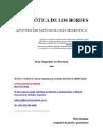 La Semiotica de Los Bordes