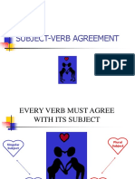 Subject Verb Agreement-PPT
