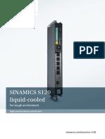 SINAMICS S120 Liquid Cooled Brochure