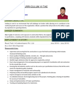 Civil Engineer CV Autocad