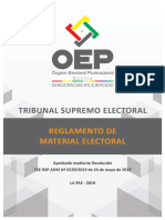Reglamento Material Electoral EG 2019