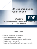 Chapter 2 A guide to using unix.ppt