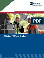 Pfister DRW Wearindextool