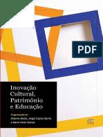BARRIO, Ángel Espina Et Al - Inovação Cultural, Patrimônio e Educação