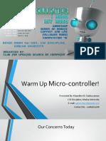 Intro to MCU + IO
