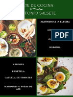 Recetas - Antonio Salsete