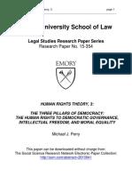 Human Rights Theory 3