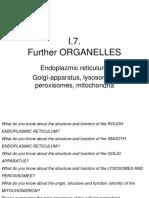 I.7. Further OrganellesUrbánV