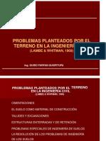 CAPITULO 1 PROBLEMAS PLANTEADOS POR EL TERRENO EN LA INGENIERIA CIVIL.pptx