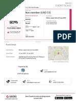 [Event Ticket] Non Member (USD 15) - Winter Japan Cultural Camp 2020 - 29035-98433-964