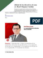 La responsabilidad de los directivos de una asociación.pdf