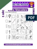 Las Vocales Para Niños de 5 Años
