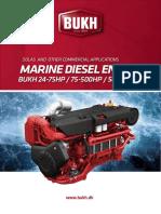 Bukh Marine Diesel Engines