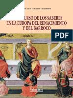 El Discurso de Los Saberes en La Europa Del Renacimiento y Del B