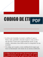 DIAPOSITIVAS CÓDIGO DE ÉTICA