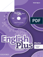 teacher´s english plus starter