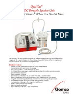 Gomco G180 Brochure Suction Machine Aspirator
