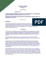 Case 15 Lorenzo Shipping vs Distribution Management