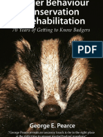 Badger Behaviour, Conservation and Rehabilitation - Sample Chapter
