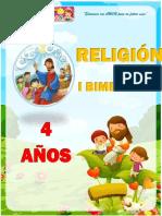 IBimestre Religion 4 AÑOS