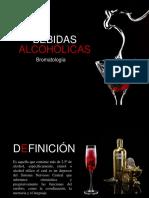Bebidas Alcohólicas Presentacion