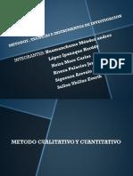Metodos , Tecnicas e Instrumentos de Investigacion