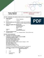 37_5193808_PhenylHydrazine-CASNO-100-63-0-MSDS