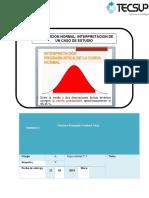 Homework - Normal Distribution Interpretation of a Study CA