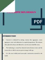 unit 3 mix design