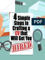 4 Simple Steps to Crafting a CV That Will Get You HIRED 1565671188